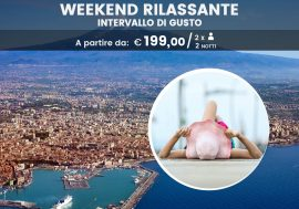 Weekend rilassante: intervallo di gusto
