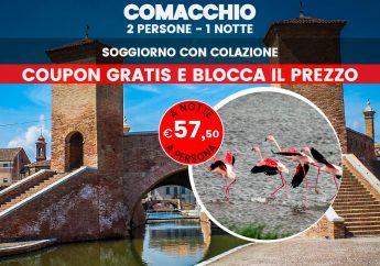 """Comacchio: scopri la """"Piccola Venezia"""" emiliana"""