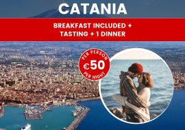 Catania package, Sicily: includes hotel, shuttle, meals!
