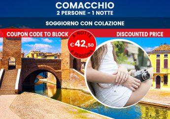 """Comacchio: soggiorno lungo i canali della """"Piccola Venezia"""""""