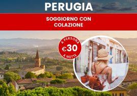 Pacchetto vacanza Umbria: soggiorno a Perugia