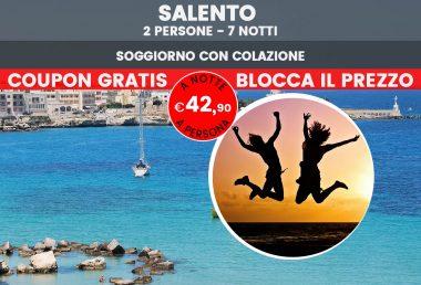 Offerta vacanze nel Salento a Luglio