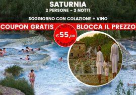 Offerta Terme di Saturnia: soggiorno relax e benessere