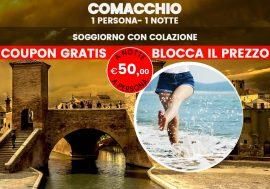 """Vacanza Last Minute Comacchio: """"la piccola venezia"""""""