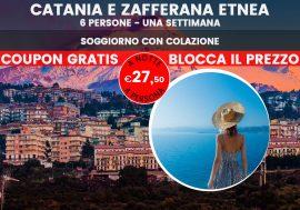 Last minute Sicilia: Catania e Zafferana Etnea