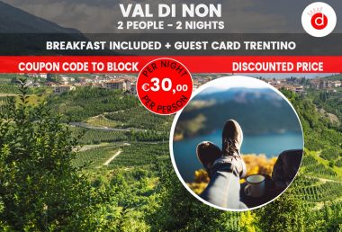 Last Minute Holiday in Trentino in the Val di Non