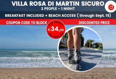Last Minute Holiday Offer in Abruzzo: Villa Rosa di Martinsicuro