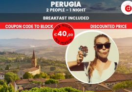 Eurochocolate Hotel Offer in Perugia