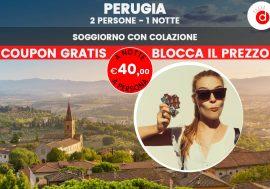 Offerta Perugia Eurochocolate: soggiorno per il festival del cioccolato
