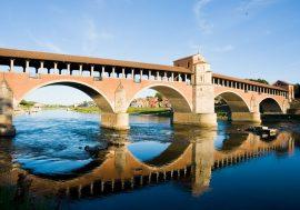 Storia del ponte coperto a Pavia: il ponte che attraversa il Ticino