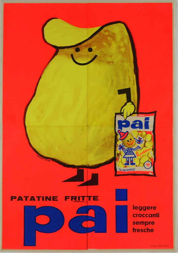 Armando-Testa-Patatine-fritte-Pai-carosello