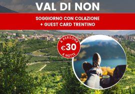 Last Minute in Trentino: agriturismo in Val di Non