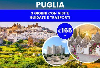 Viaggio in Puglia: itinerario con partenza da Bari