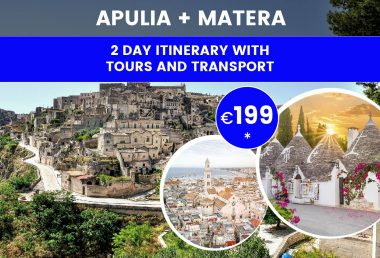 Tour in Puglia and Matera: Leaving From Bari