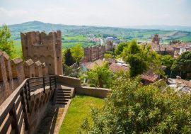 Visiting Gradara in the Marche Region