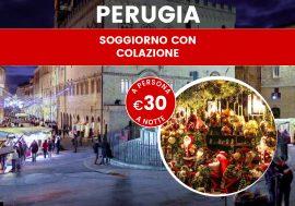 Offerta weekend Immacolata: Perugia