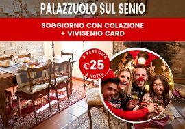 Pacchetto di Natale in Toscana: soggiorno con colazione e ViviSenioCard