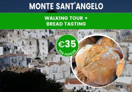 Walking Tour of Monte Sant'Angelo With Bread Tasting