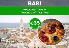 "Walking Tour Bari With ""Focaccia"" Tasting"