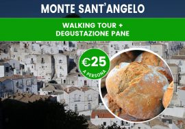 Walking tour di Monte Sant'Angelo con degustazione del pane