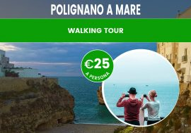 Walking tour di Polignano a mare: la famosa città di Domenico Modugno