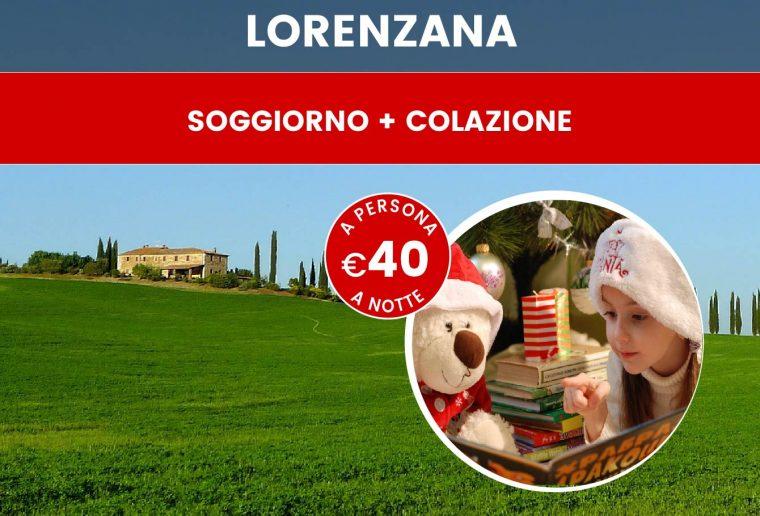 Offerta di Natale e Capodanno in Toscana, provincia di Pisa