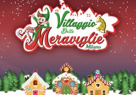 """The """"Village of Wonders"""" Christmas Village in Milan"""