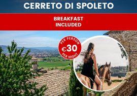 Umbria: Stay in an Agriturismo in Cerreto di Spoleto