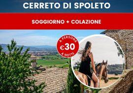 Soggiorno in Umbria: relax, cultura e natura a Cerreto di Spoleto