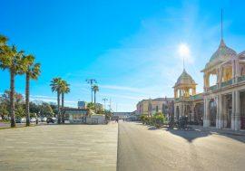 Itinerario di Viareggio: passeggiata nell'Italia degli anni '20