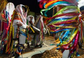 Ancient Carnival Celebrations in Tricarico Near Matera
