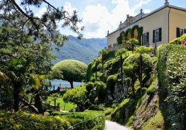 Lenno on Lake Como and Villa Balbianello