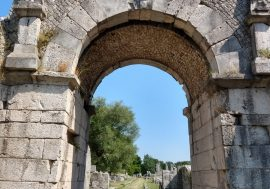The Ancient Roman City of Altilia di Sepino in Molise