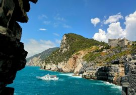 Palmaria Island off the Coast of Portovenere