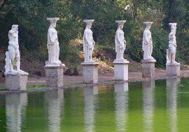 Visiting Hadrian's Villa in Tivoli