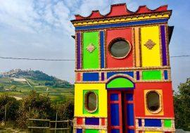 An Unusual Chapel in Italy's Barolo Region
