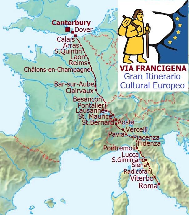 mappa-via-francigena-italy