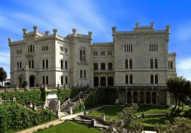 Miramare Castle on the Gulf of Trieste