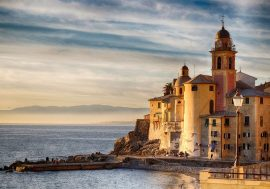 Camogli and Recco on the Ligurian Coast