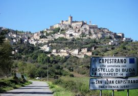 Experience the Village of Capestrano in Abruzzo
