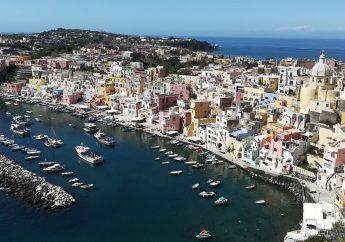 Procida Island in the Gulf of Naples