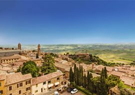Montalcino in the Heart of Tuscany's Val d'Orcia