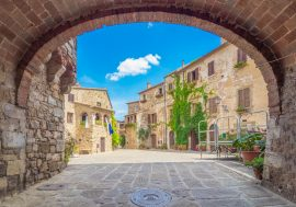 Montemerano: One of the Most Beautiful Villages in Tuscany's Maremma