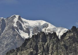 Courmayeur at the Foot of Italy's Monte Bianco