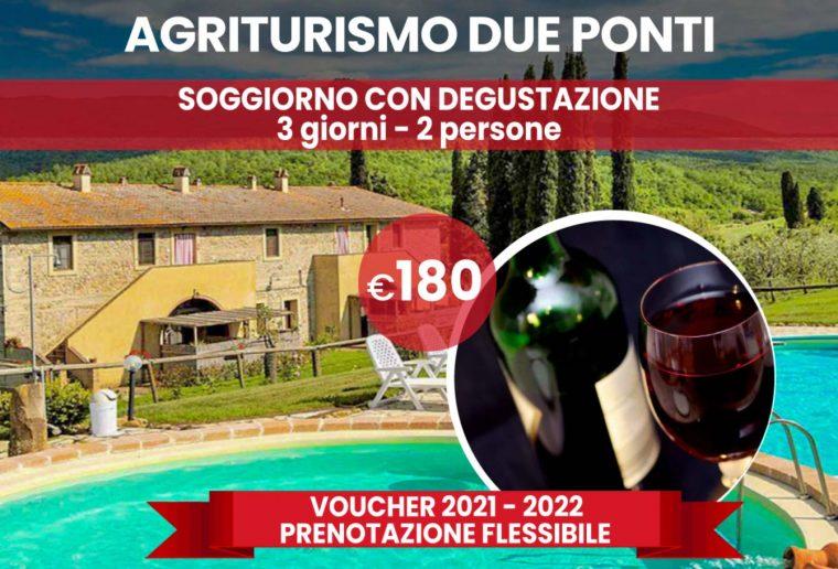 Prenotazione flessibile: Soggiorno in agriturismo in Toscana
