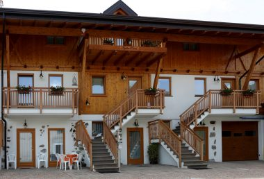 Where to Stay in Trentino: the Agritur Pisani Agriturismo in Brez