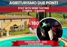 Special Offer: Farmhouse Stay in Tuscany at the Due Ponti Agriturismo