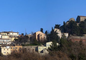 Verucchio in the Marecchia Valley of Emilia-Romagna