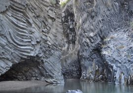 Sicily's Alcantara Gorge and River Park