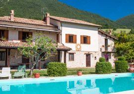 Agriturismo Santa Serena a Cerreto di Spoleto nell'Umbria